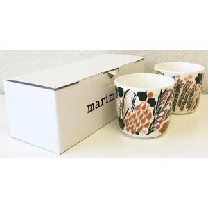 マリメッコ LETTO COFFEE CUP レット コーヒーカップ 2DL 2PCSセット ホワイト|mikonfinlandshop