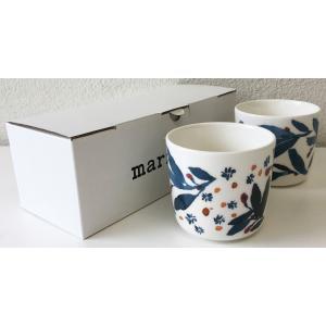 マリメッコ HYHMA COFFEE CUP 2DL 2PCSセット ホワイト|mikonfinlandshop
