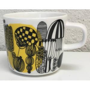 マリメッコ SIIRTOLAPUUTARHA シイルトラプータルハ COFFEE CUP 2DL ハンドル付き|mikonfinlandshop