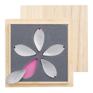 SAKURAREST 箸置き 錫 桜 ギフトセット|mikura