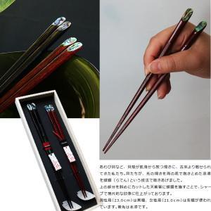 夫婦箸 箸置きセット 桐箱入り お箸ギフト 雅 mikura 10
