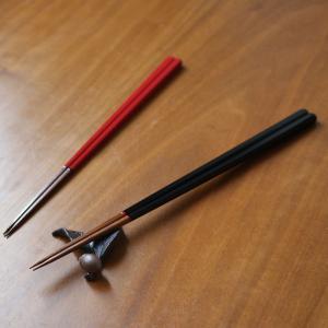 漆竹一文字箸 黒 天然竹 23.5cm(16_17_P2_13)|mikura