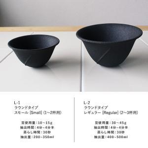 コーヒー用ドリッパー&フィルターになる セラミックフィルター LOCA レギュラーサイズ mikura 05