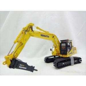 コマツ ミニチュア <PC210LC-10 hammer Drill> 油圧ショベル ハンマードリル