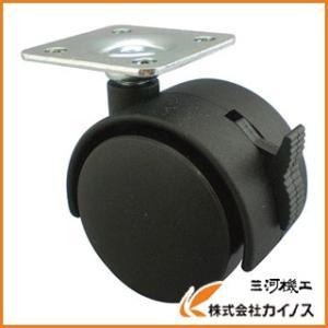 【仕様】 許容荷重(kgf):31 車輪径D(mm):40 車輪幅(mm):42 取付高H(mm):...