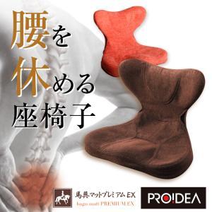 座椅子 腰痛 姿勢矯正 骨盤クッション 馬具マットプレミアムEX mikys