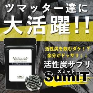 ※10/上旬入荷分、ご予約承り中です。 『活性炭ダイエットサプリ SumiT -スミット-』 4種の...