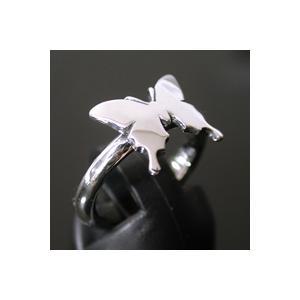 指輪 レディース Agehaアゲハ蝶シルバーリング AS-022|miles