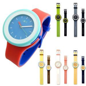 腕時計 a・la・mode ア・ラ・モード カラフルシリコンウォッチ 4WAY カスタムウォッチ I-1403Z|miles