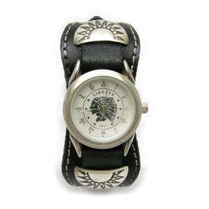 シルバープレートが渋いネイティブ腕時計IW-2|miles