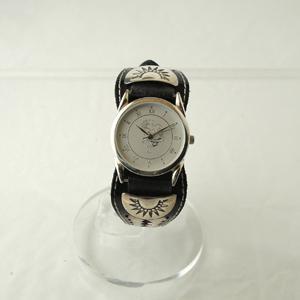 ココペリデザイン文字盤ネイティブ腕時計IW-3|miles
