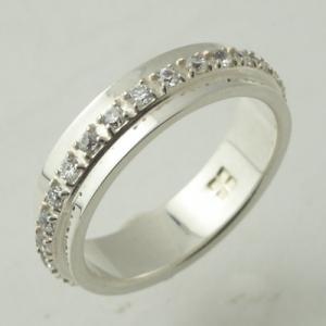 指輪 リング white clover ホワイトクローバー シルバーリングWSR112CB|miles