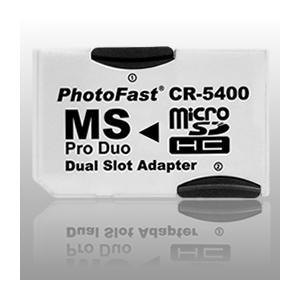 MicroSD→MS Pro Duo変換アダプタ+8GBSDHC(2枚)セット【CR-5400】|milford