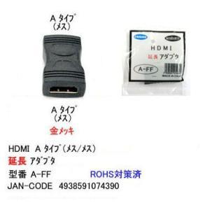 HDMI延長アダプタ(メス/メス)(DA-A-FF)|milford