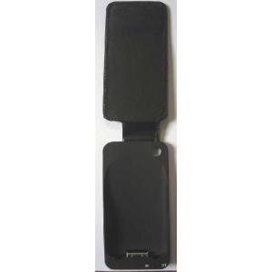 iPhone3G/3GS対応レザーケースカバー一体ビルトイン・チャージャー/2200mAh(ブラック)【IP-22L】|milford