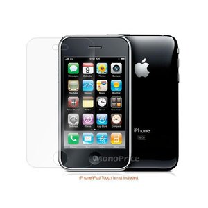 iPhone 3G/3GS用スクリーンプロテクター/ハイクリアタイプ【IP3-Protector-2】 milford