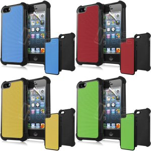 【iPhone5用】SHOCK PROOF COMBO HYBRID CASE/全8色【IP5DC06】|milford|02