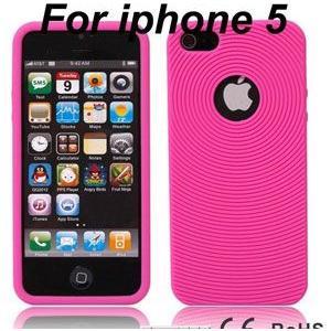 【iPhone5用】ソフト・シリコンケース/全10色【IP5DC07】 milford