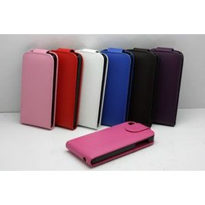 【iPhone5用】PU leather Wallet Hard Back Case/全7色【IP5LC09】 milford