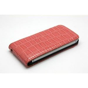 【iPhone5用】 Croco Leather Cover Hard Back Case/全5色【IP5LC10】 milford