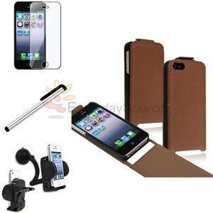 【iPhone5用】アクセサリー4点セット【IP5SE01】 milford