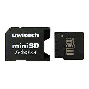 OWLTECH製メディア変換アダプタ(miniSD用)|milford