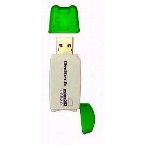OWLTECH製microSD対応カードリーダー(グリーン)|milford