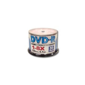 ZERO(ゼロ)製DVD-R(50枚入り/8倍速)メディア【ZER47-8X50PW】|milford