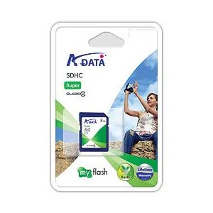 A-DATA製 SuperSDHC(Class2)/8GB|milford