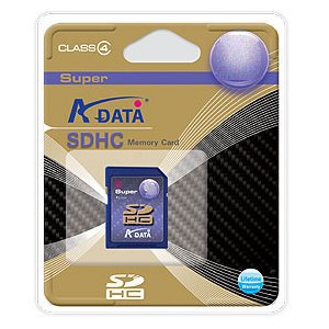 A-DATA製 SuperSDHC(Class4)/4GB|milford
