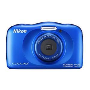 Nikon デジタルカメラ COOLPIX W150 防水 W150BL クールピクス ブルー|milimilimea64
