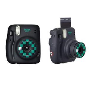 富士フイルム インスタントカメラ チェキ instax mini 11 「鬼滅の刃」BOX 「竈門炭治郎」モデル INS MINI 11 KIMETSU GRAY|milimilimea64