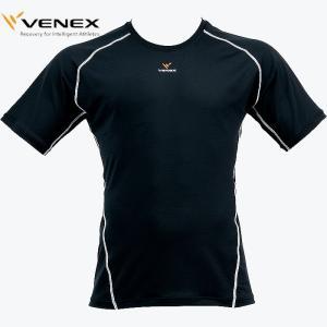 VENEX リカバリーウェア コンフォートT メンズ 黒|militant