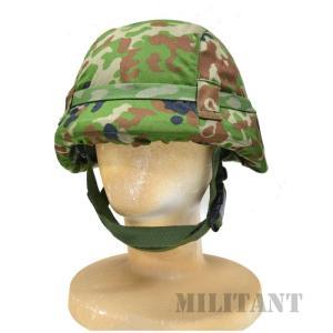 (ネコポス対応)鉄帽覆い 陸自迷彩 中|militant