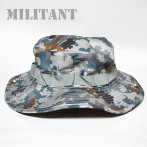 (ネコポス対応)航空デジカモブ―ニーハット 航空自衛隊デジタル迷彩 ブッシュハット ジャングルハット|militant