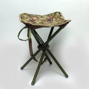 四脚椅子 迷彩|militant