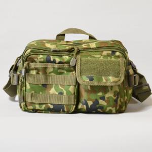 陸上自衛隊迷彩のショルダーバッグ小型です。指名買いでずっと愛用してくださるお客様が多い商品です。両手...