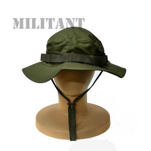 (ネコポス対応)ブーニーハット(ブッシュハット) OD/オリーブ|militant