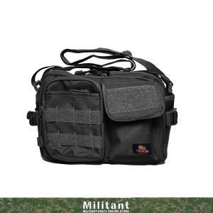 大好評発売中の陸上自衛隊迷彩のショルダーバッグ小型のブラックバージョンです。指名買いでずっと愛用して...