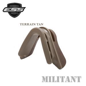 ESS アジアンフィットノーズクリップ/Middle/テレインタン-terrain tan-|militant