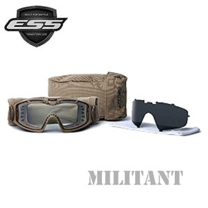 ESS INFLUX AVS GOGGLE イーエスエス ゴーグルインフラックス 2枚レンズ ミリタリー防弾ゴーグル|militant