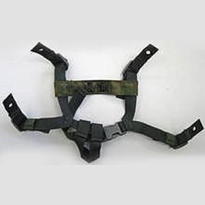 (ネコポス対応)あご紐4点式 陸自88式鉄帽|militant