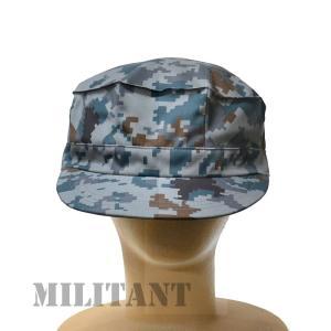 (ネコポス対応)八角帽 航空デジタル迷彩 空自作業帽|militant