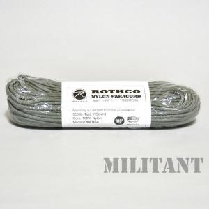 ROTHCO ロスコ ナイロン製パラコード 550LB 100フィート フォリッジグリーン|militantonline