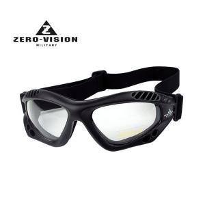 ZERO VISION ZV-101BK(クリアー)ゴーグル|militantonline