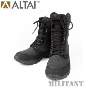 ALTAI GEAR アルタイギア スーパーファブリックタクティカル トールブーツ ブラック ミリタリー|militantonline