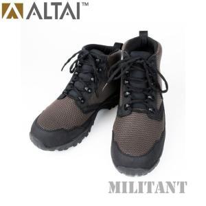 ALTAI GEAR アルタイギア スーパーファブリックタクティカル ショートブーツ ダークブラウン ミリタリー|militantonline