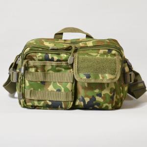 ショルダーバッグ 小型 陸上自衛隊迷彩 カモフラージュ ミリタリー|militantonline