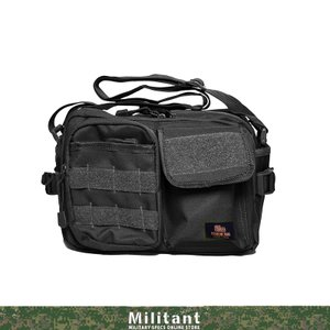 ショルダーバッグ 小型 ブラック|militantonline