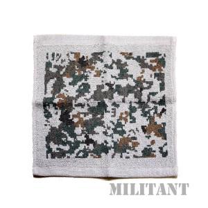 (ネコポス対応)航空自衛隊迷彩タオルハンカチ|militantonline